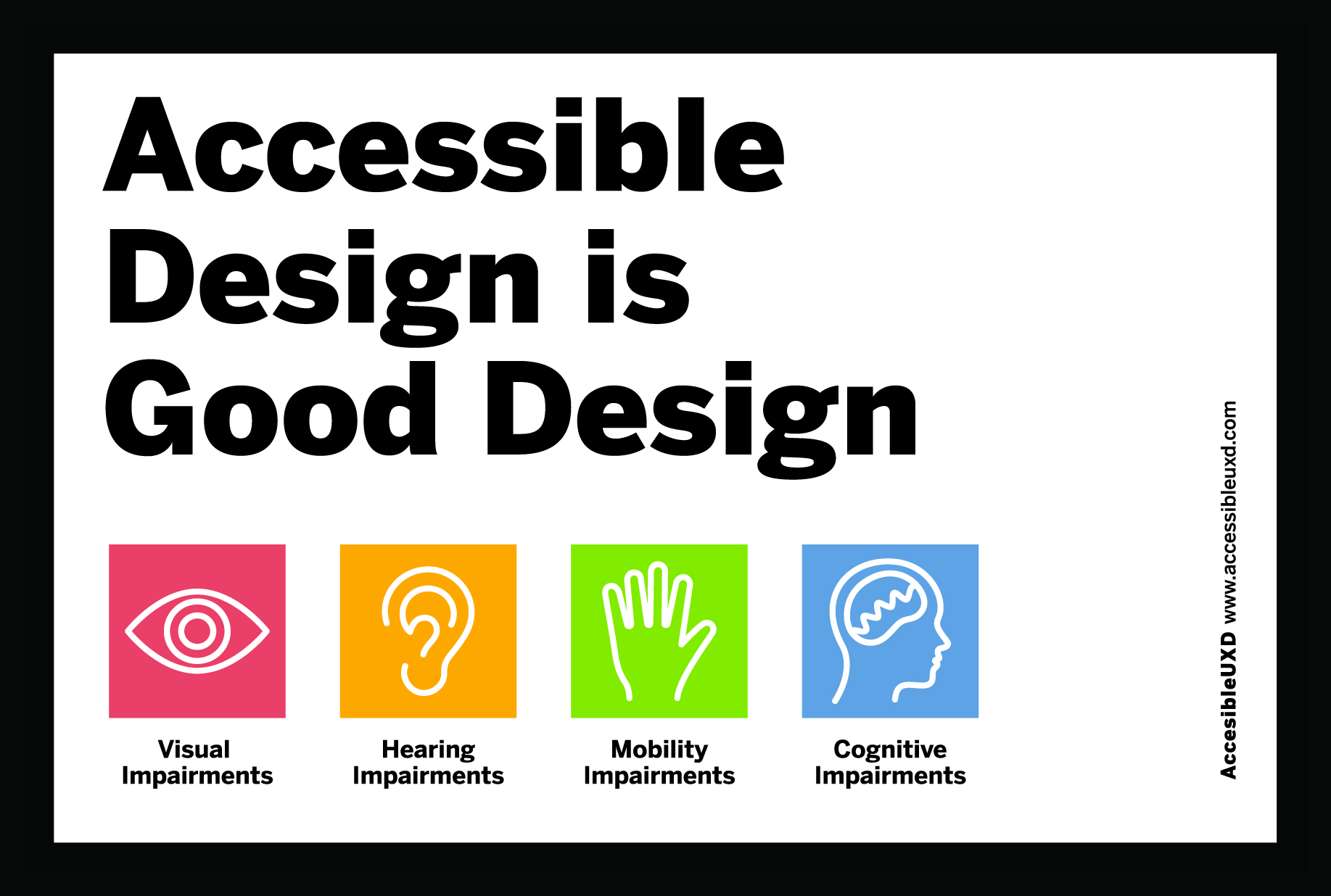 accessible design is good design